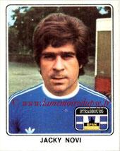 N° 368 - Jacky NOVI (1974-77, PSG > 1977-78, Strasbourg)