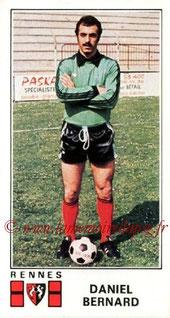 N° 298 - Daniel BERNARD (1976-77, Rennes > 1977-78, PSG)