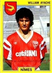 N° 194 - William AYACHE (1986-87, PSG > 1991-92, Nîmes)