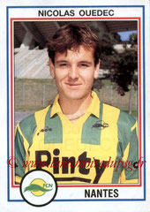 N° 165 - Nicolas OUEDEC (1992-93, Nantes > 1998-99, PSG)