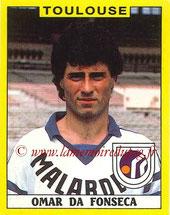 N° 357 - Omar DA FONSECA (1985-86, PSG >1988-89, Toulouse)