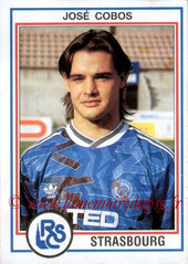 N° 229 - José COBOS (1992-93, Strasbourg W 1993-96, PSG)