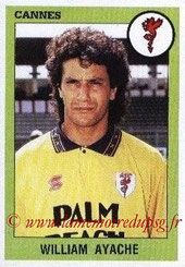 N° 064 - William AYACHE (1986-87, PSG > 1993-94, Cannes)