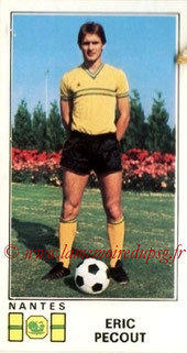 N° 190 - Eric PECOUT (1976-77, Nantes > 2000-??, Cellule recrutement PSG))