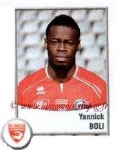 N° 635 - Yannick BOLI (2007-10, PSG > 2010-11, Nîmes)