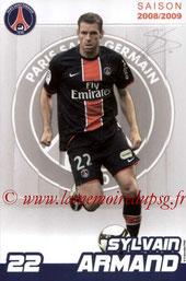 ARMAND Sylvain  08-09