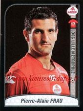 N° 178 - Pierre-Alain FRAU (2006-08, PSG > 2009-10, Lille)