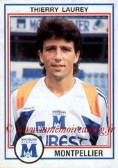 N° 144 - Thierry LAUREY (1989-90, PSG > 1992-93, Montpellier)