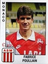 N° 174 - Fabrice POULLAIN (1985-88, PSG > 1989-90, Monaco)