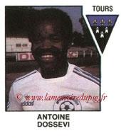 N° 553 - Antoine DOSSEVI (1975-76, PSG > 1978-79, Tours)