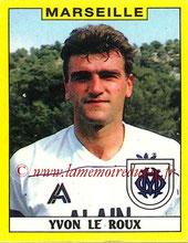 N° 130 - Yvon LE ROUX (1988-89, Marseille > 1989-90, PSG)