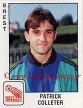 N° 042 - Patrick COLLETER (1989-90, Brest > 1991-96, PSG)
