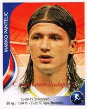 N° 205 - Marko PANTELIC (1997-98, PSG > 2010, Serbie)