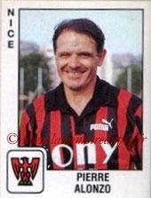 N° 244 - Pierre ALONZO (1975-80, Diverses fonctions (dont entraîneur) PSG1989-90, Entraîneur Nice)