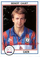 N° 034 - Benoît CAUET (1992-93, Caen > 1996-97, PSG)