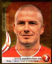N° 131 - David BECKHAM (2010, Angleterre > Jan à Juin 2013, PSG)