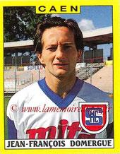N° 041 - Jean-François DOMERGUE (1988-89, Caen > 1992-Août 2000, Directeur administratif puis directeur général adjoint au PSG)
