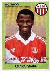 N° 193 - Amara SIMBA (1986-93, PSG > 1993-94, Monaco)
