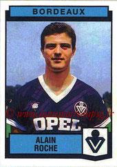 N° 020 - Alain ROCHE (1987-88, Bordeaux > 1998-98, PSG)