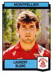N° 224 - Laurent BLANC (1987-88, Montpellier > 2013-??, Entraîneur PSG)