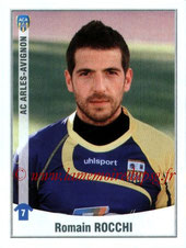 N° Sup - Romain ROCCHI (2002-04, PSG > Janv à juin 2011, Arles-Avignon)