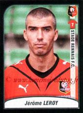 N° 407 - Jérome LEROY (1995-99 et 2002-03, PSG > 2009-10, Rennes)