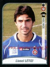 N° 344 - Lionel LETIZI (2000-06, PSG > 2009-10, Nice)