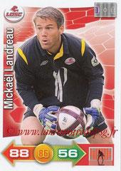 N° 113 - Mickaël LANDREAU (2006-09, PSG > 2011-12, Lille)