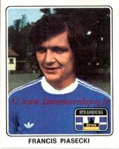 N° 372 - Francis PIASECKI (1975-77, PSG > 1977-78, Strasbourg)