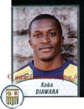 N° 541 - Kaba DIAWARA (2000-01, PSG > 2009-10, Arles-Avignon)