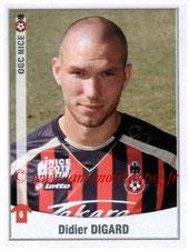 N° 354 - Didier DIGARD (2007-08, PSG > 2010-11, Nice)