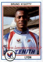 N° 087 - Bruno N'GOTTY (1992-93, Lyon > 1995-98, PSG)