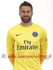 SIRIGU Salvatore  16-17  (Prêt au FC Seville, ESP puis à Osasuna, ESP)