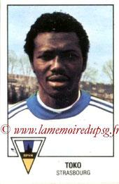 N° 304 - Nambatingue TOKO (1978-79, Strasbourg > 1980-85, PSG)
