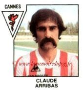 N° 367 - Claude ARRIBAS (1971-72, PSG > 1978-79, Cannes, D2)