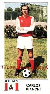 N° 276 - Carlos BIANCHI (1976-77, Reims > 1977-79, PSG)
