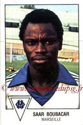 N° 104 -Saar BOUBACAR (1978-79, Marseille > 1979-83, PSG > 1998-2005, Entraîneur adjoint PSG))