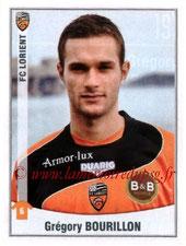 N° 191 - Grégory BOURILLON (2007-10, PSG > 2010-11, Lorient)