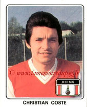 N° 303 - Christian COSTE (1977-78, Nîmes > 1984-85, Entraîneur PSG)