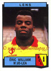 N° 120 - William N'JO-LEA (1984-85, PSG > 1987-88, Lens)