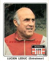 N° 129 - Lucien LEDUC (1977-78, Entraîneur Monaco > 1983-84, Entraîneur PSG)