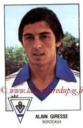 N° 039 - Alain GIRESSE (1978-79, Bordeaux > Juil à Déc 98, Entraîneur PSG)