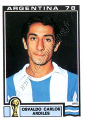 N° 052 - Oswaldo ARDILES (1978, Argentine > juil à Déc 1982, PSG)