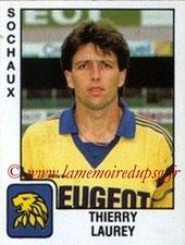 N° 327 - Thierry LAUREY (1989-90, Sochaux > Août à oct 1990, PSG)