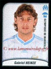 N° 244 - Gabriel HEINZE (2001-04, PSG > 2009-10, Marseille)