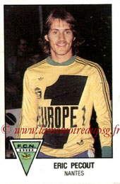 N° 176 - Eric PECOUT (1978-79, Nantes > 2000-??, Cellule recrutement PSG)