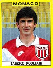 N° 193 - Fabrice POULLAIN (1985-88, PSG > 1988-89, Monaco)