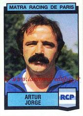 N° 171 - Artur JORGE (1987-88, Entraîneur Matra Racing > 1991-94, Entraîneur PSG)