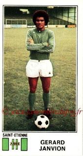 N° 303 - Gérard JANVION (1976-77, Saint-Etienne > 1983-85, PSG)