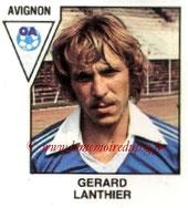 N° 351 - Gérard LANTHIER (1978-79, Alès, D2 > 1984-85, PSG)